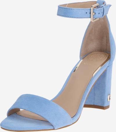GUESS Sandali s paščki | dimno modra barva, Prikaz izdelka
