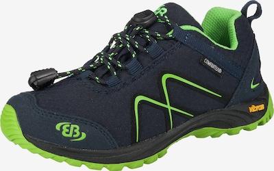 EB Outdoorschuhe 'Tex Guide' in dunkelblau / neongrün, Produktansicht