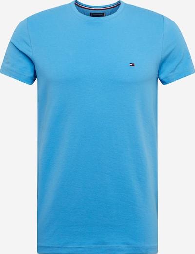 TOMMY HILFIGER Shirt 'STRETCH SLIM FIT TEE' in blau, Produktansicht