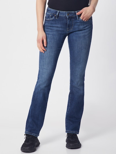 Pepe Jeans Jeans 'Piccadilly' in blue denim: Frontalansicht