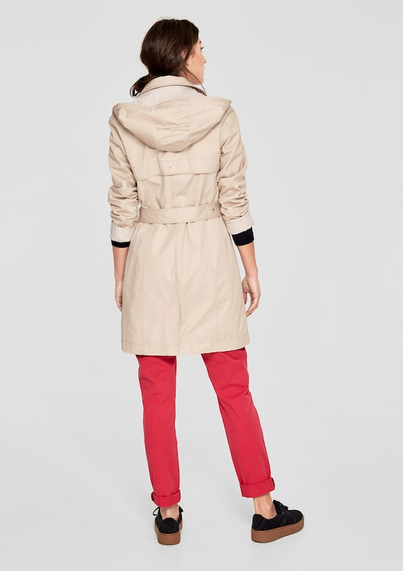 S.oliver Red Label Trenchcoat Avec Col