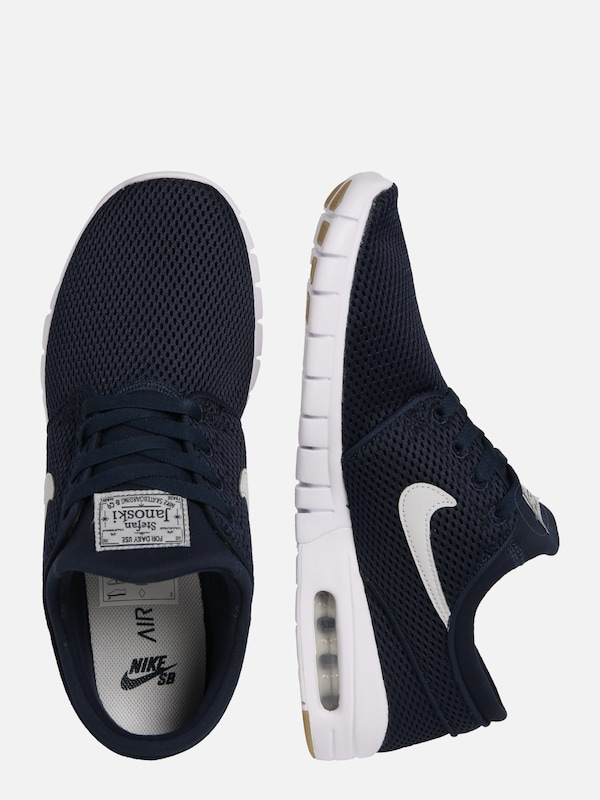 Nike SB Sneakers laag 'Stefan Janoski Max' in Zwart Wit