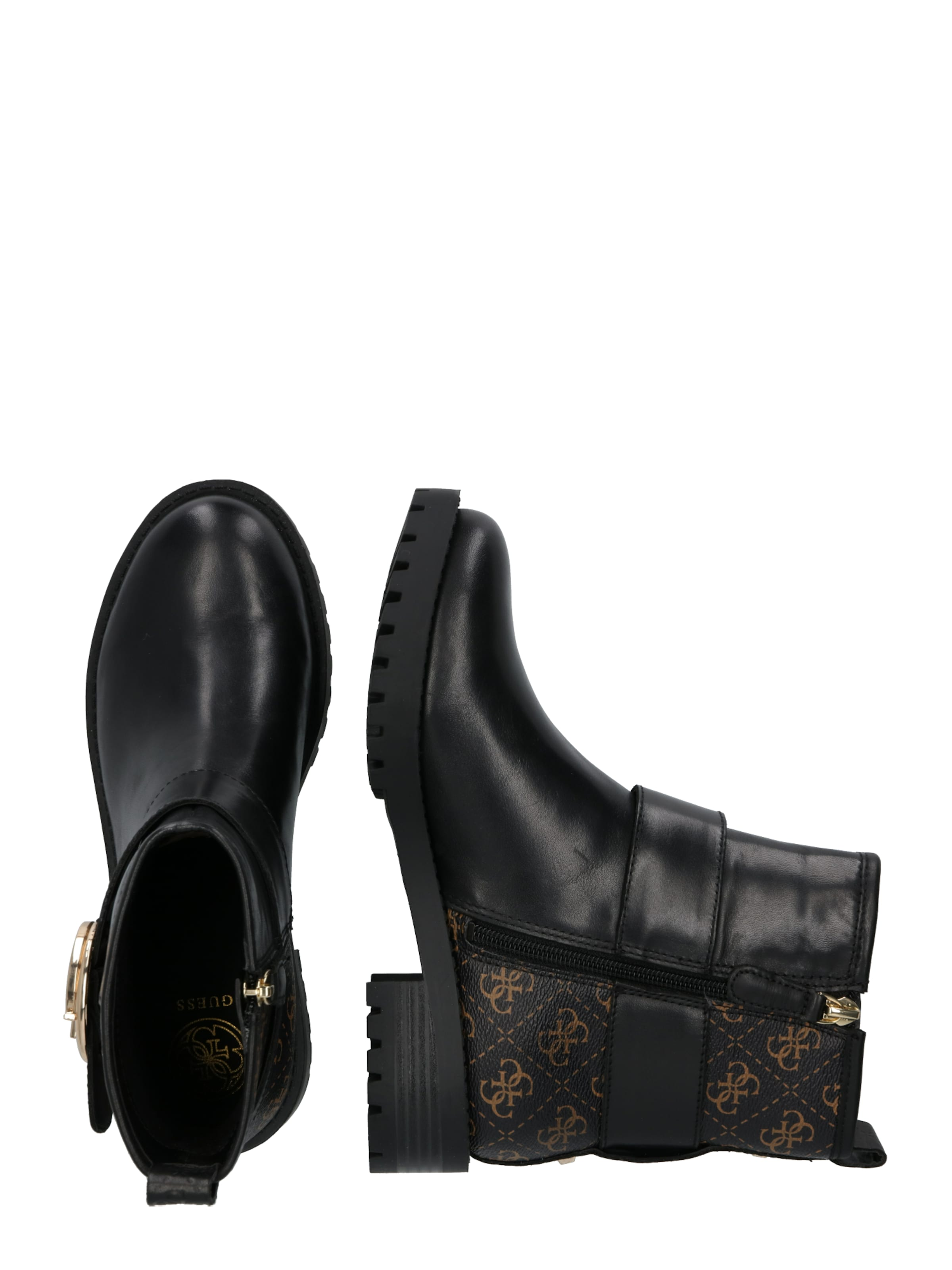 En MarronNoir Bottines 'hadasan' Bottines Guess Guess 'hadasan' NwXO8nPk0