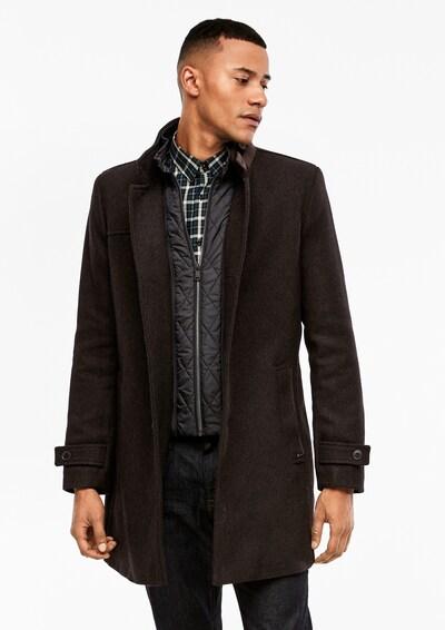 s.Oliver BLACK LABEL Mantel in dunkelbraun, Modelansicht