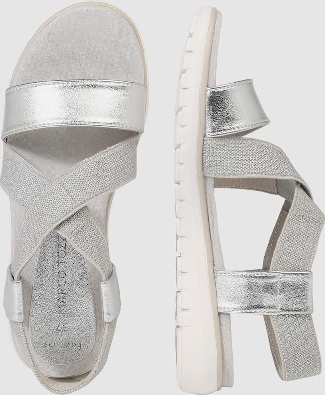 MARCO TOZZI Sandale im im Sandale Metallic-Look a57ed8