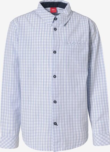 s.Oliver Junior Hemd mit Fliege in hellblau / weiß, Produktansicht