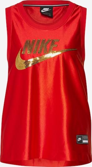 Nike Sportswear Topp Kuld / helepunane, Tootevaade