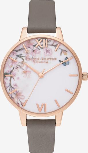 Olivia Burton Damenuhr 'Pretty Blossom' in rosegold / greige / weiß, Produktansicht