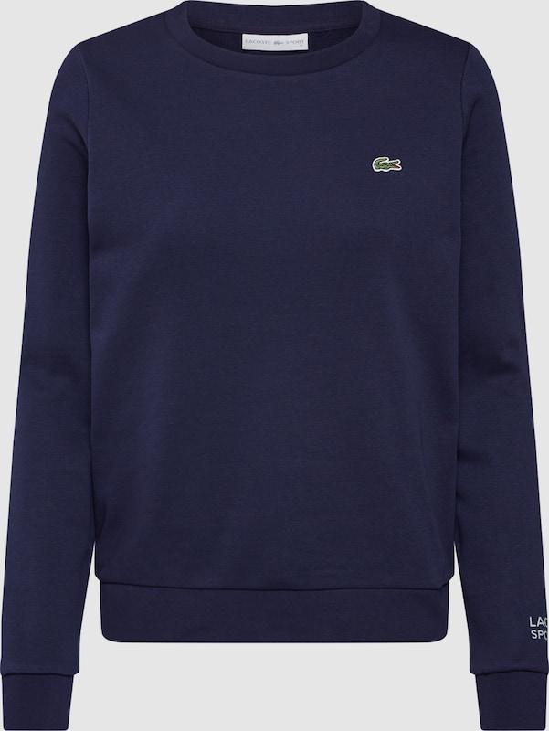 LACOSTE Sweatshirt in marine  Bequem und günstig