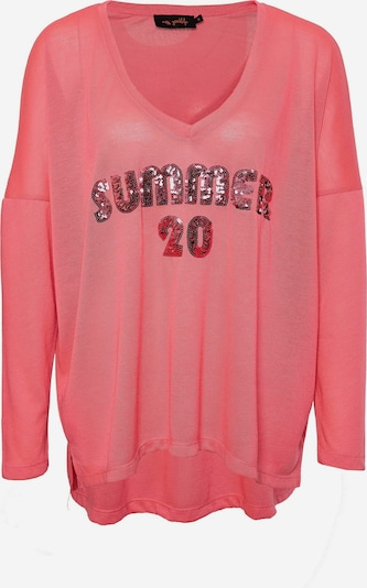 miss goodlife Longsleeve 'Summer 20' in pink, Produktansicht