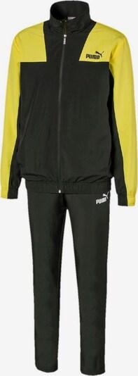PUMA Trainingsanzug in gelb / schwarz, Produktansicht