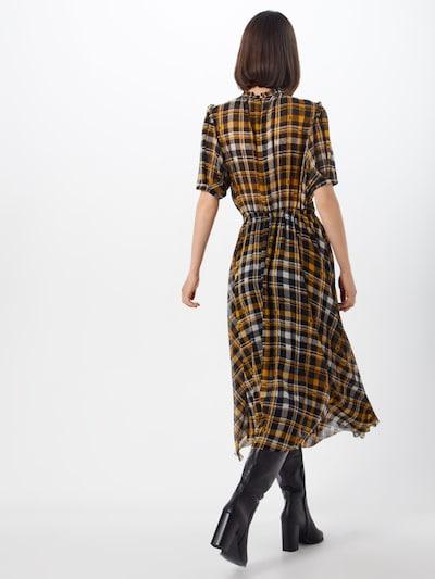 Suknelė 'Brix' iš JUST FEMALE , spalva - geltona / juoda / balta: Vaizdas iš galinės pusės