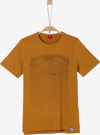 s.Oliver T-Shirt in rostbraun, Produktansicht