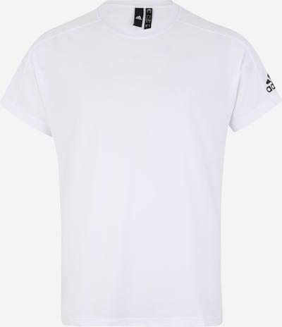 ADIDAS PERFORMANCE Functioneel shirt 'ID Stadium' in de kleur Zwart / Wit: Vooraanzicht
