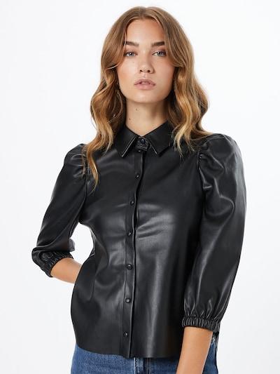 VERO MODA Bluse 'BUTTERLOLA' in schwarz, Modelansicht