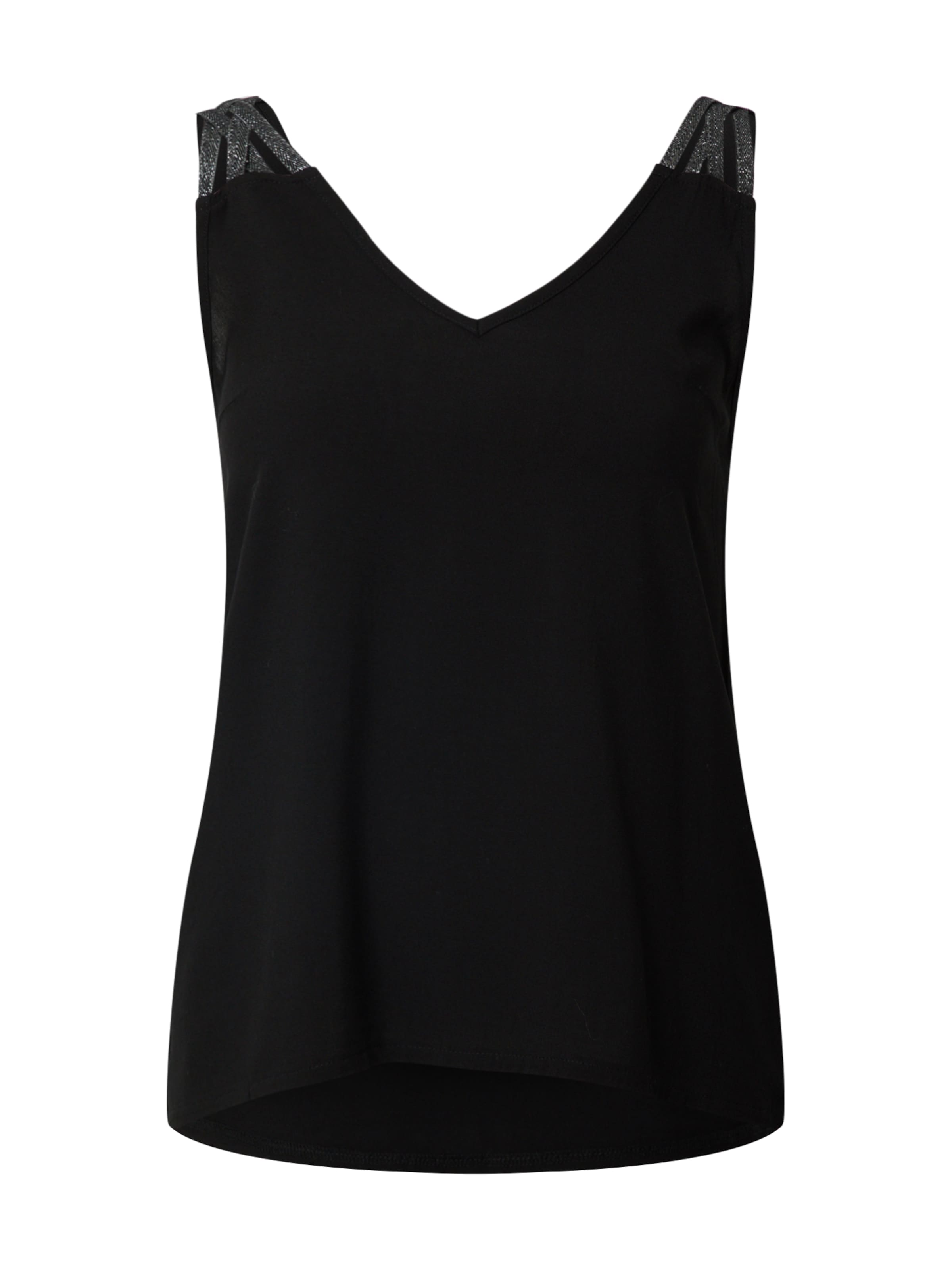 ABOUT YOU Top 'Florina' in schwarz