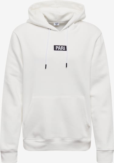 ABOUT YOU X PARI Hoodie 'Mick' in weiß, Produktansicht