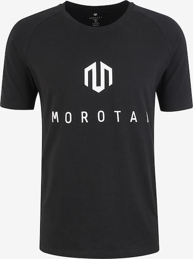 Sportiniai marškinėliai iš MOROTAI , spalva - juoda: Vaizdas iš priekio