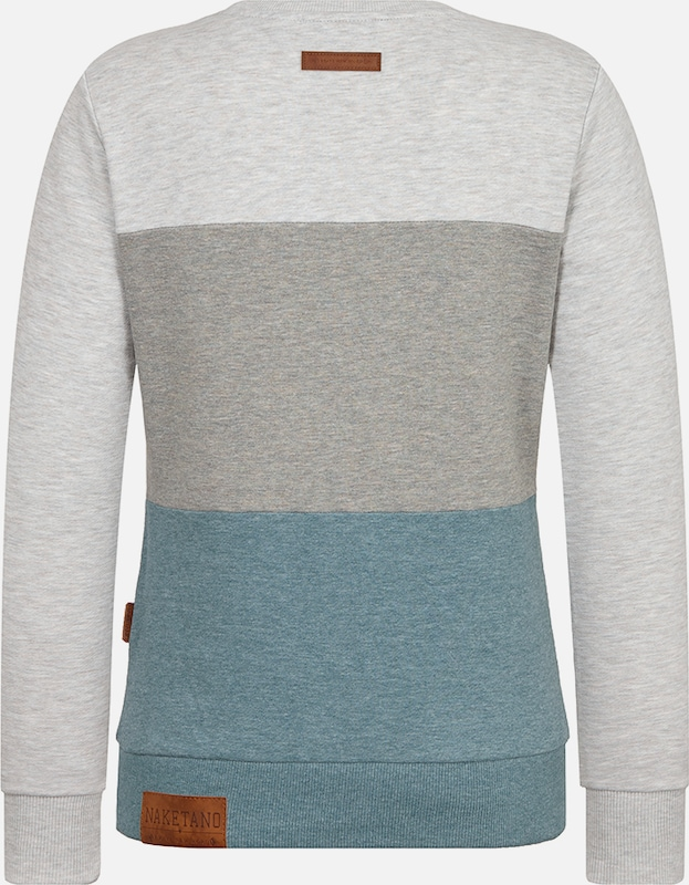 En FuméGris Chiné Bleu Sweat shirt Clair Naketano 'arschfritöse' shQtdxrC
