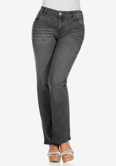 SHEEGO Jeans in de kleur Grey denim, Modelweergave
