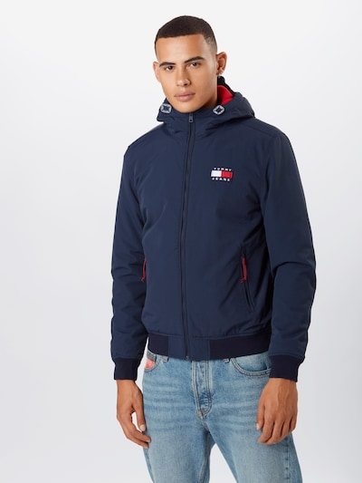 Tommy Jeans Jacke 'PADDED ' in navy: Frontalansicht