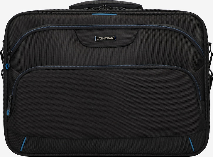 Lightpak Laptoptasche 'Executive Line' in schwarz, Produktansicht