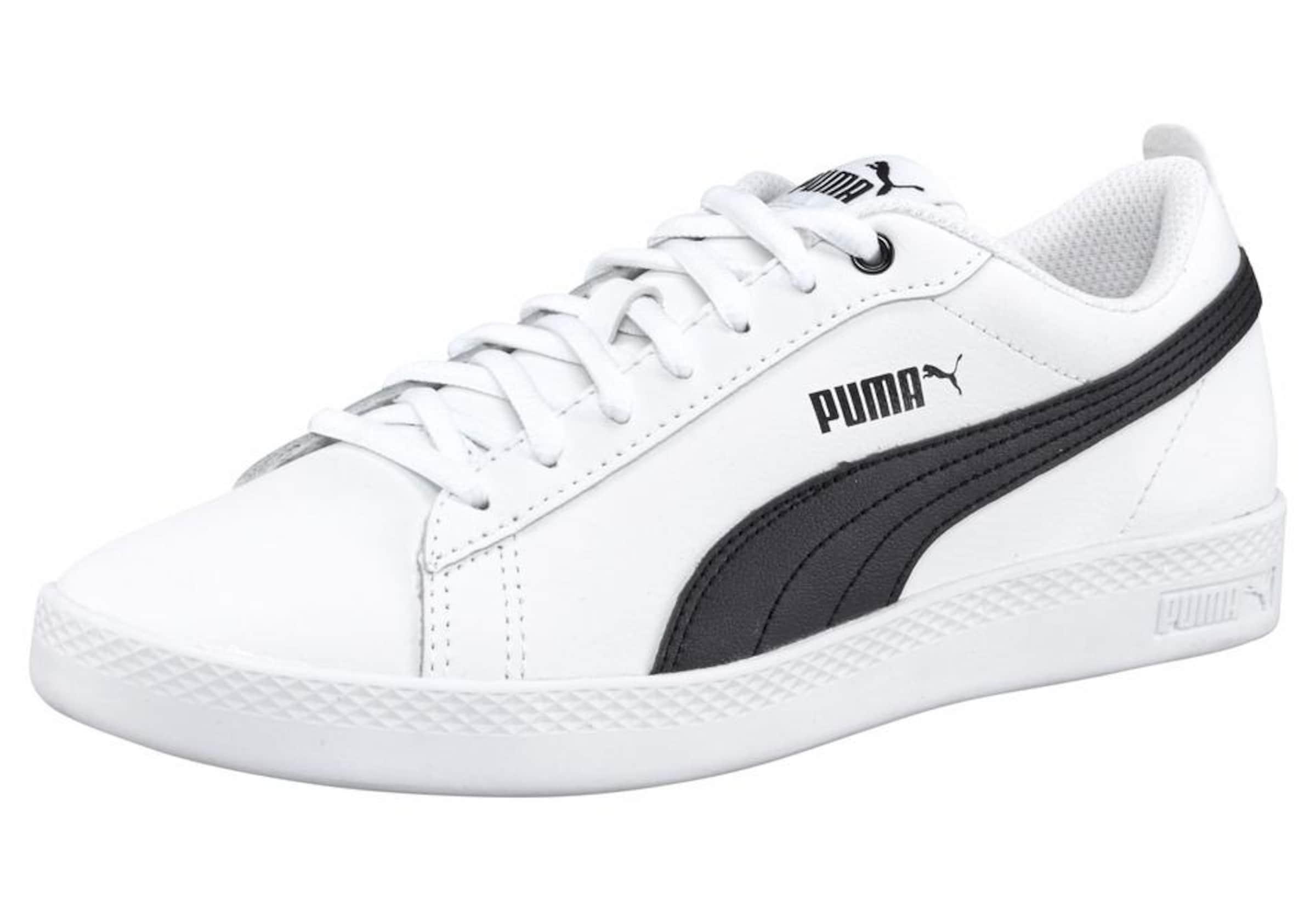 SchwarzWeiß V2 Sneakers L' Puma 'smash Wns In H2WE9eDIY