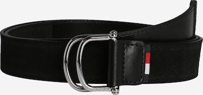 TOMMY HILFIGER Gürtel 3.5cm in rot / schwarz / weiß, Produktansicht
