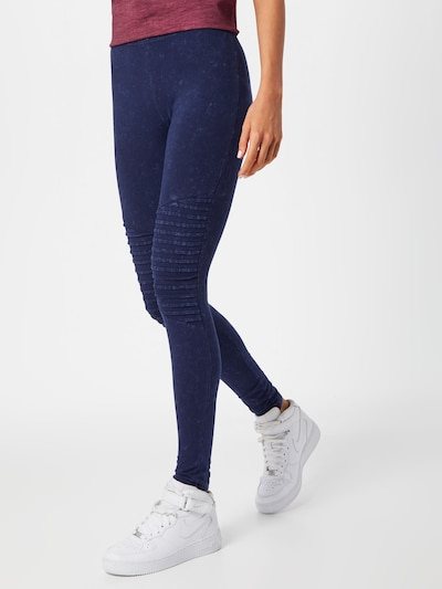 Urban Classics Leggings in blau, Modelansicht