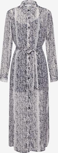 Freebird Kleid in grau / weiß, Produktansicht