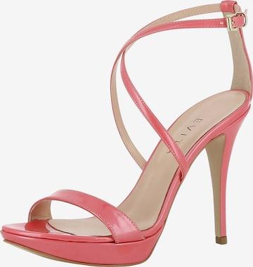 Sandales à lanières 'Valeria' EVITA en rose
