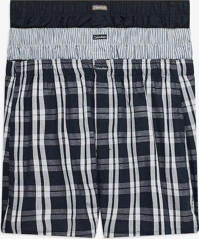 Calvin Klein Underwear Boxershorts in schwarz / weiß, Produktansicht