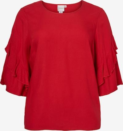 Junarose Bluse in rot: Frontalansicht