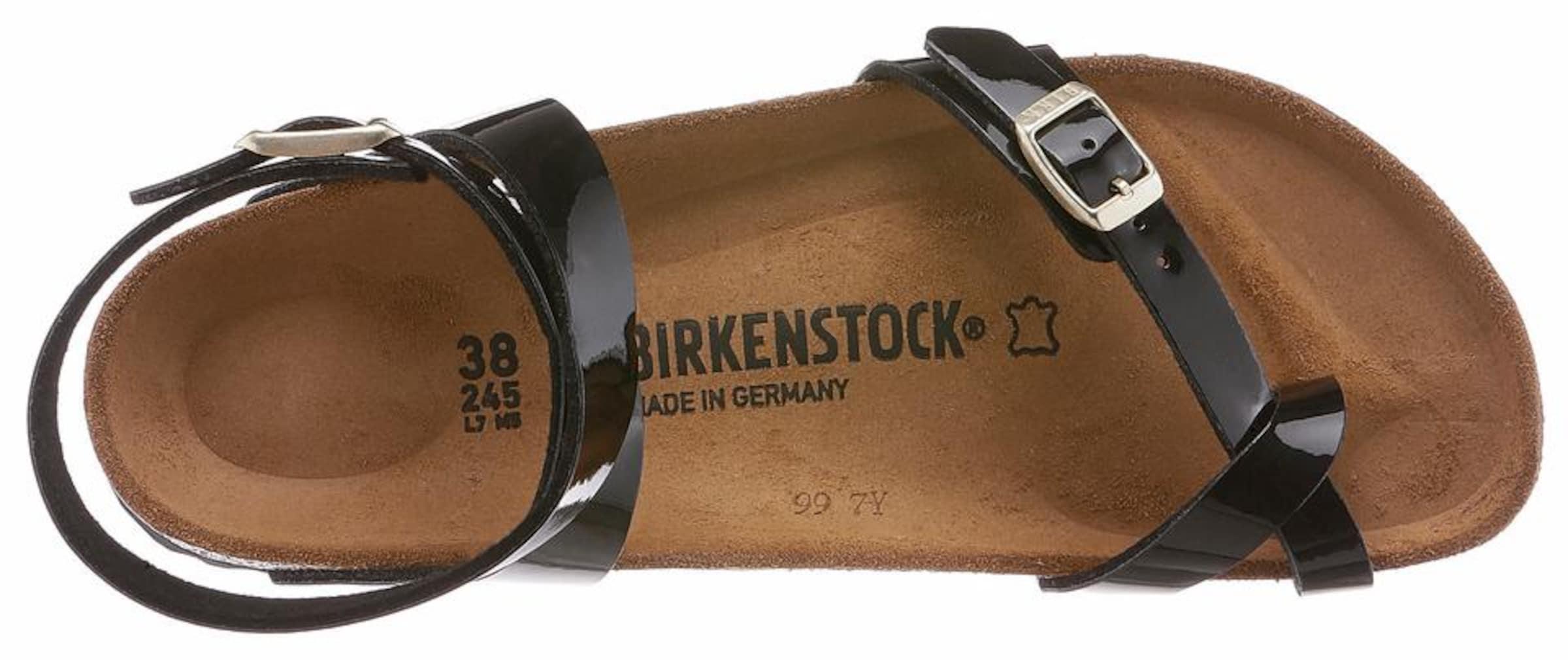 Riemchensandale 'yara' Schwarz Schwarz Riemchensandale In In Birkenstock 'yara' Birkenstock lTK13FJc