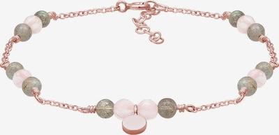 ELLI Bracelet en or rose / greige, Vue avec produit