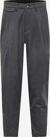 DRYKORN Kalhoty se sklady v pase 'NOSH' - šedá: Pohled zepředu