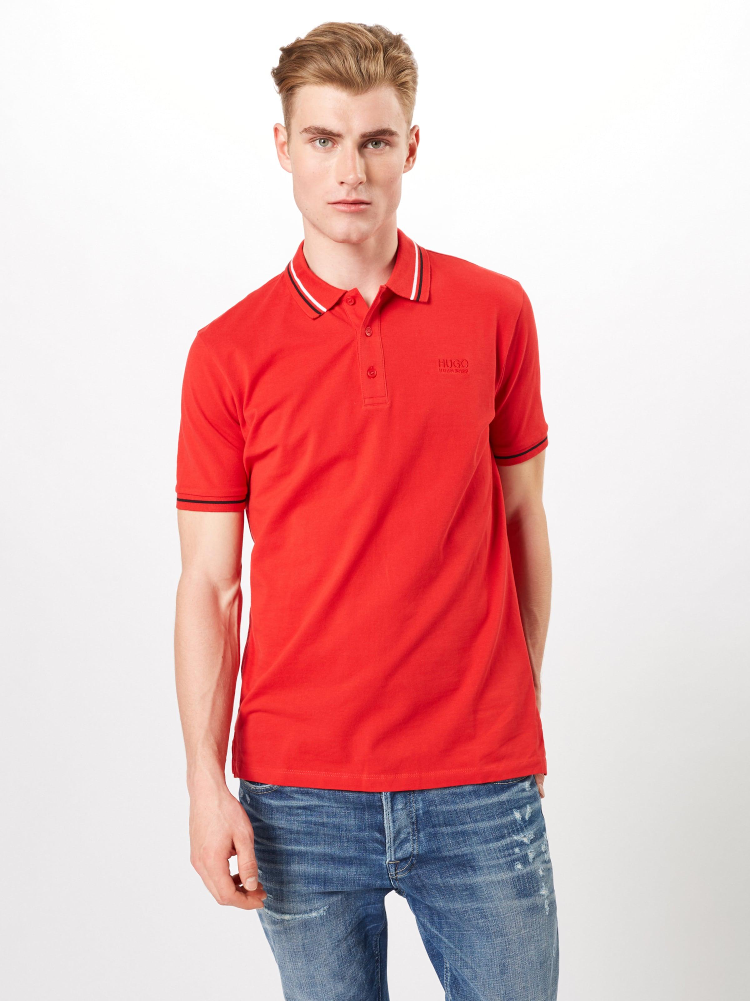 Poloshirt Hugo In Rot 'daruso u1' b7yfI6gvY
