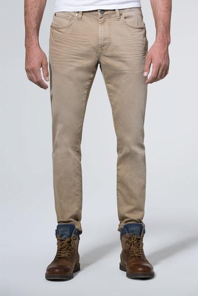 CAMP DAVID Jeans in sand, Modelansicht