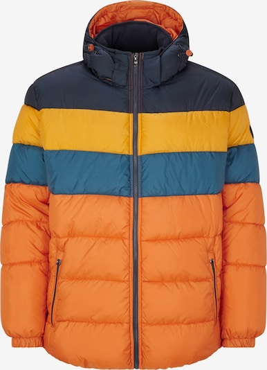 s.Oliver Men Big Sizes Jacke in blau / navy / orange, Produktansicht