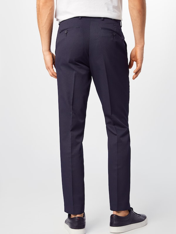 BURTON MENSWEAR LONDON Hose in navy: Rückansicht