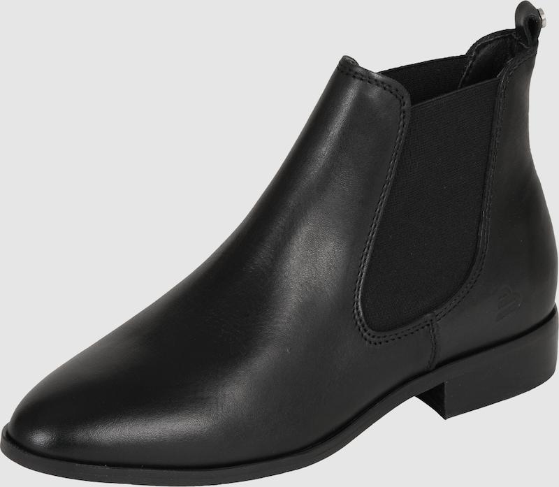 bullboxer chelsea boot aus leder in schwarz about you. Black Bedroom Furniture Sets. Home Design Ideas