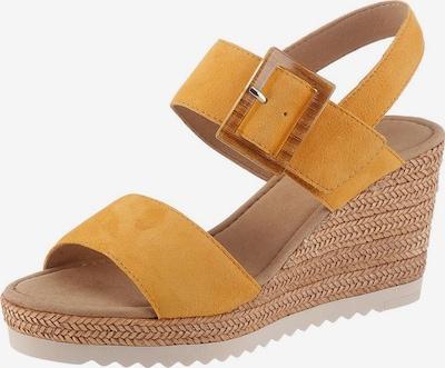 GABOR GABOR-Sandalette in gelb, Produktansicht