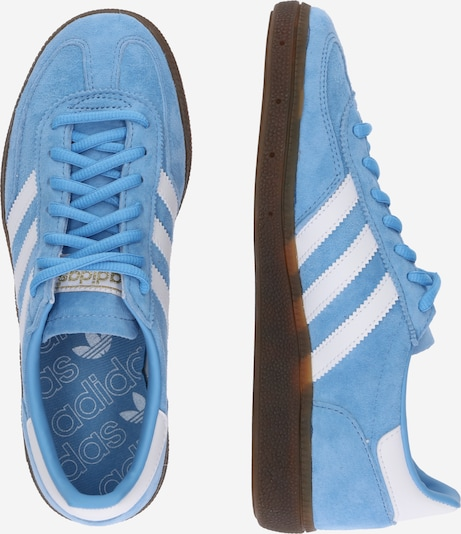 ADIDAS ORIGINALS Sneakers laag 'Handball SPZL' in Lichtblauw / Wit 0fAgx5d8