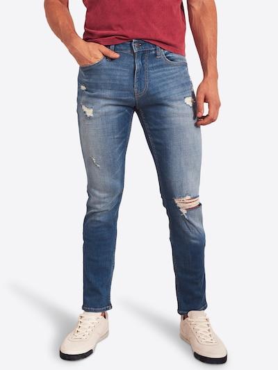 HOLLISTER Jeans 'BTS19-SKNY BRIGHT' in de kleur Blauw denim: Vooraanzicht