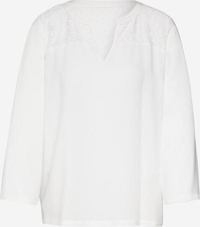 JACQUELINE de YONG Shirt 'JDYRAYMOND 7/8 LACE TOP WVN NOOS' in weiß, Produktansicht