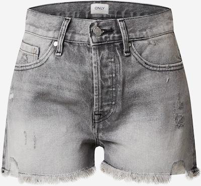 ONLY Bikses 'ONLFIN' pieejami pelēks džinsa, Preces skats