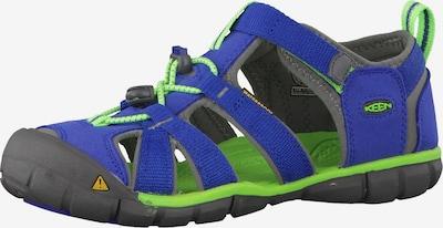 KEEN Sandale 'Seacamp 2 CNX' in blau / kiwi, Produktansicht