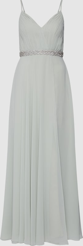 Mascara Kleid 'Long Dress with Strass' in jade  Große Preissenkung