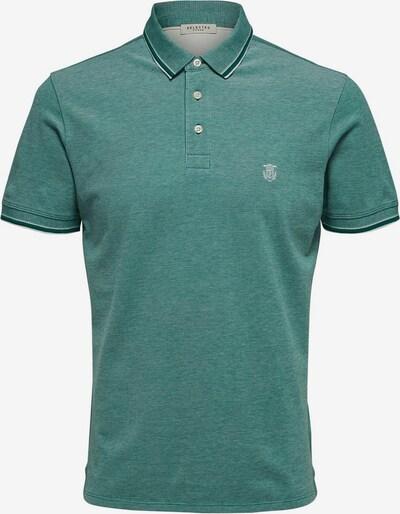 SELECTED HOMME Poloshirt in grün, Produktansicht
