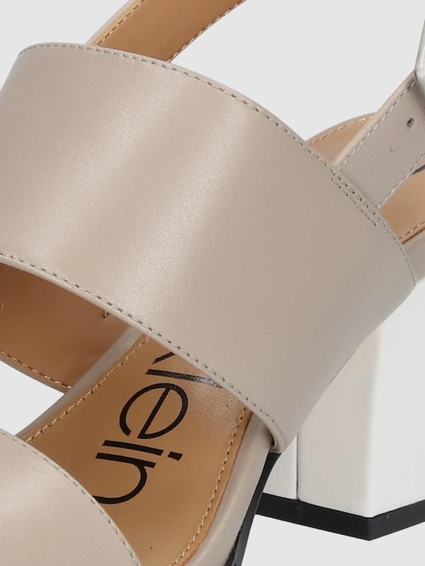 Calvin Klein | Riemchensandalen es 'ROSEMBRY' mit Blockabsatz--Gutes Preis-Leistungs-Verhältnis, es Riemchensandalen lohnt sich,Sonderangebot-1910 22d178